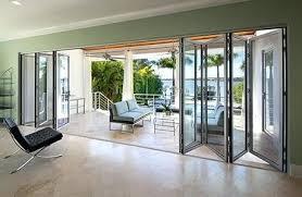 Ebay Patio Doors Ideas Folding Glass Patio Doors And Inside View Of Folding Patio