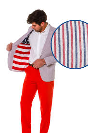 Can You Wear The American Flag As Clothing American Flag Suits Blazers Button Downs