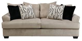 buy ashley furniture 4720138 heflin pebble sofa