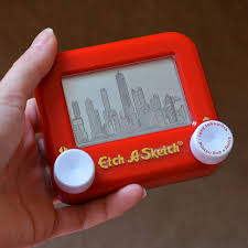 get your etch a sketch back from the attic this will give you