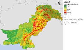 Map Of Pakistan And India by Agu Dave U0027s Landslide Blog Update On The Flood Wave In Pakistan