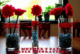 s day table centerpieces mothers day decorations table decorating of party