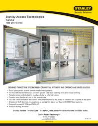 icu ccu 7000 series stanley access technologies pdf catalogue