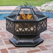 Uniflame Propane Fire Pit - provides a more natural warmth with walmart fireplace uniflame lp