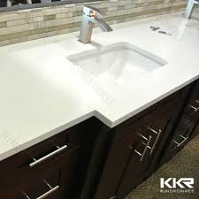 One Piece Bathroom Vanity Tops by One Piece Bathroom Sink And Molded Countertop Buy Molded