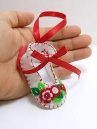 Custom Baby Ornaments Baby U0027s First Christmas Felt Shoe Ornament Diy Crafts Pinterest