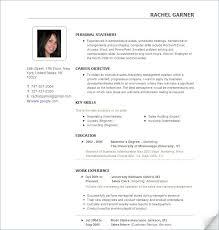 Microsoft Works Resume Template 4 Sample Of Microsoft Works Templates Free Job And Resume Template