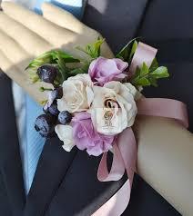 wrist corsage bracelet new silk flower artificial bridesmaid wedding flower