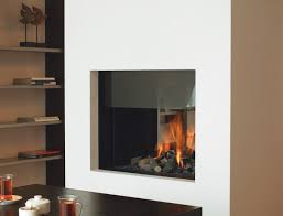two sided gas fireplace home design