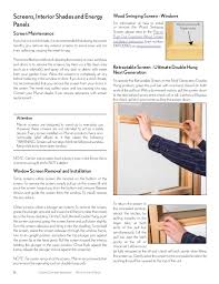 Marvin Retractable Screen Marvin Windows And Doors Owners Manual
