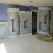 Castle Kids Room by Custom Painted Castle In Kids Room
