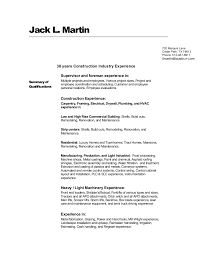 Sample Actuarial Resume by Jacks Construction Resume