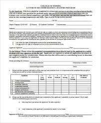 sample student recommendation letter 8 examples in word pdf