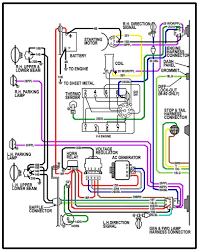 64 chevy c10 wiring diagram chevy truck wiring diagram 64