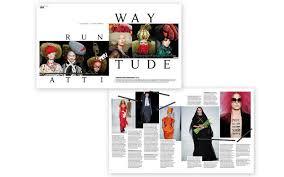 magazine layout graphic design fashion magazine layout gra217 introduction to the graphic design