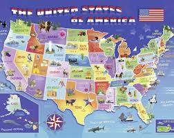 usa map jigsaw puzzle jigsaw puzzle by ravensburger at puzzle palace australia
