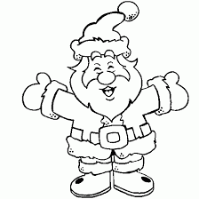 santa claus coloring pages free printables archives coloring website