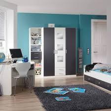 Schlafzimmer Komplett Jugend Jugend Schlafzimmer Möbel Rick In Weiß Grau Pharao24 De