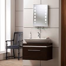 bathroom mirrors with led lights white porcelain freestanding