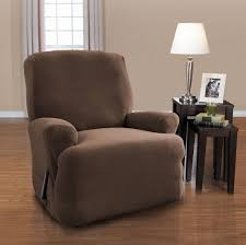 decorating great grey slipcover glider recliner armchair