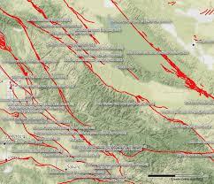 Fau Map Ventura Earthquake Fault Map Santa Barbara Faults