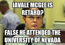 Javale Mcgee Memes - mcgee is retard