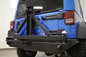 jeep wrangler jk tires rock 4x4 rear bumper with tire carrier for jeep wrangler jk 2
