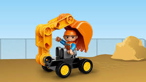 10812 truck u0026 tracked excavator lego duplo products and sets