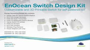 unboxing enocean switch design kit youtube