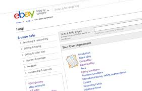 ebay amend user agreement with fees for exchanging contact info