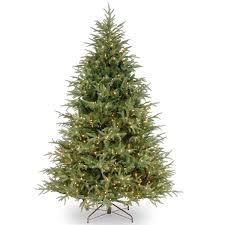 9 ft pre lit artificial christmas trees christmas lights decoration