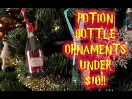 harry potter potion bottle ornament diy 10