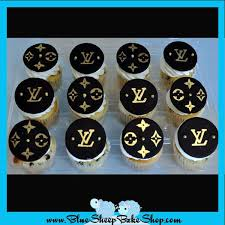 custom cupcakes louis vuitton cupcakes cupcakes and custom cakes by blue sheep