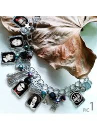 my chemical earrings my chemical black parade charm bracelet