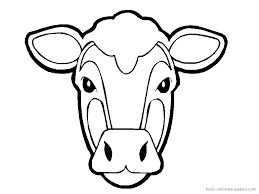 goat mask coloring page cow coloring pages to print minecraft baby mooshroom cow coloring