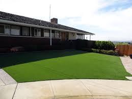 artificial turf u0026 sod in a backyard of bay area north california