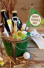 fathers day gift basket golf themed fathers day gift basket everydaydishes b1 baskets