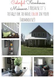 colorful farmhouse dining and living room makeover re fabbed