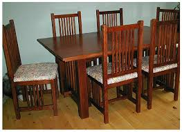 mission style dining room set great mission style dining table about craftsman style