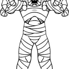 mummy can still hurting his finger funny coloring page mummy can
