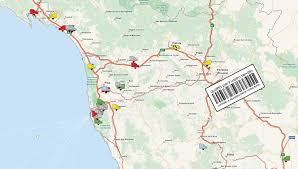Lucca Italy Map Wondersys Srl