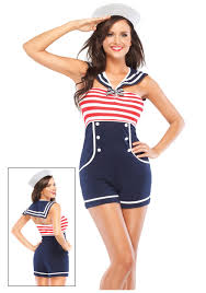 nautical pin up sailor costume halloween pinterest sailor
