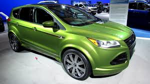Ford Escape Green - 2013 ford escape hpp performance concept exterior walkaround