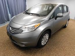 compact nissan versa or similar 2014 used nissan versa note 5dr hatchback cvt 1 6 sv at north