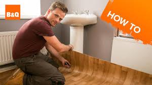home great installing vinyl flooring snapping vinyl plank
