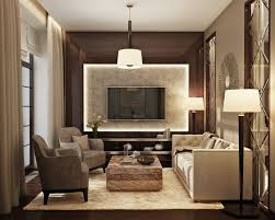MarchenkoPazyuk Design Small Luxury Apartment Design Living Room - Luxury apartment design
