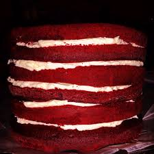 red velvet cake with cooked cream cheese frosting le food snob
