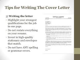 Resume Paper And Envelopes Resume And Cover Letter Workshop