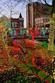 fayetteville square christmas lights lights of the ozarks parade expands to block avenue and dickson