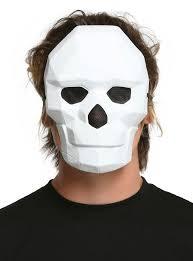 geometric skull mask topic